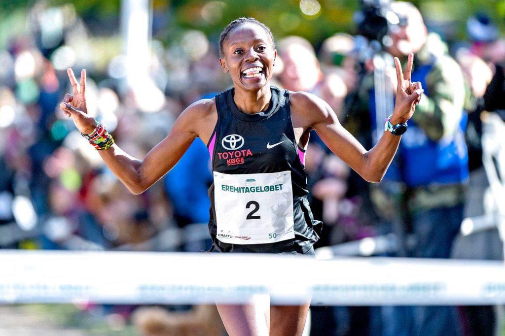 Sylvia Kiberenge og Abdi Ulad vinder Eremitageløbet 2019